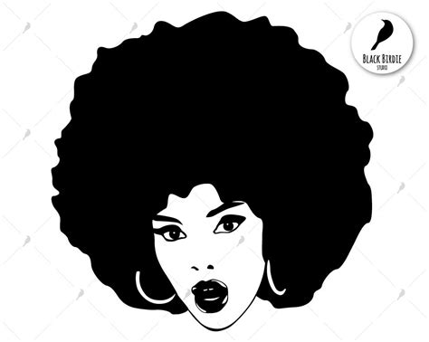 Svg graphic of a woman svg silhouette of a woman with afro puff this graphic is hand drawn and then digitally completed by me. Black woman svg black woman clipart afro svg afro clipart ...