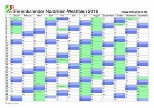 Schulferien 2016 Nrw : schulferien kalender nrw nordrhein westfalen 2016 mit feiertagen und ferienterminen ~ Yasmunasinghe.com Haus und Dekorationen