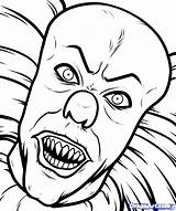 Coloring Monster Pages Creepy Scary Printable Getcolorings sketch template