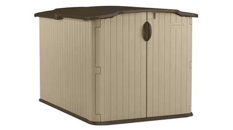 glidetop resin storage shed by suncast