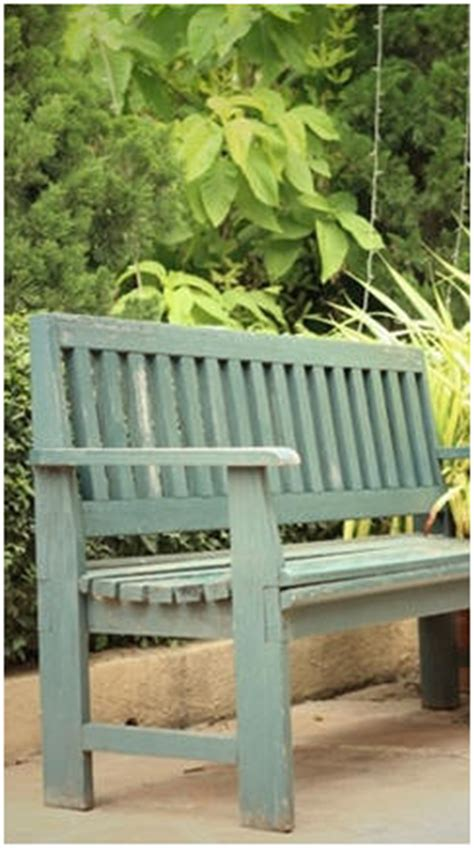 garden furniture project plans