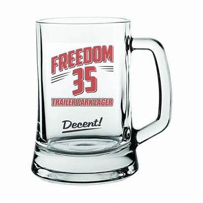 Trailer Park Boys Freedom Beer Mug Lager