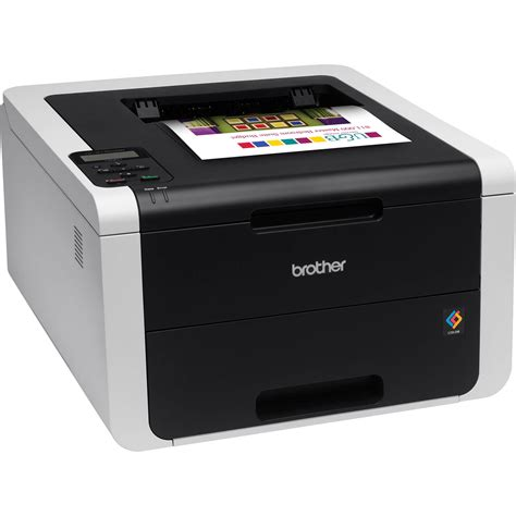 colored laser printer hl 3170cdw wireless color laser printer hl 3170cdw b h