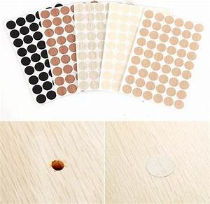 162pcs furniture stickers desk table self adhesive screw With furniture cover sticker