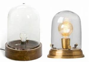 Lampe Sous Cloche : o trouver une lampe sous cloche joli place ~ Teatrodelosmanantiales.com Idées de Décoration