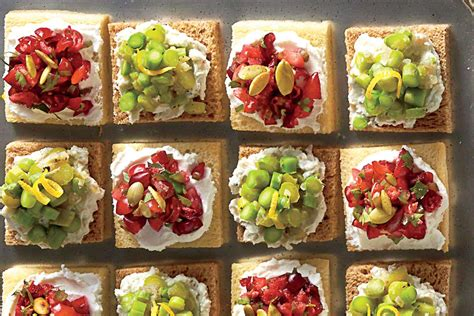 cranberry goat cheese canap 233 s appetizer recipes southern living
