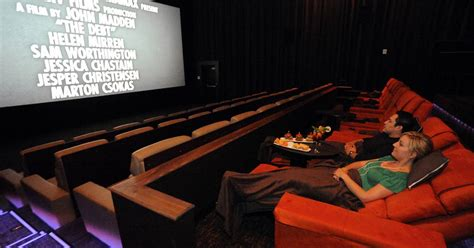 foldable bar luxury seats key to renovated suburban theaters