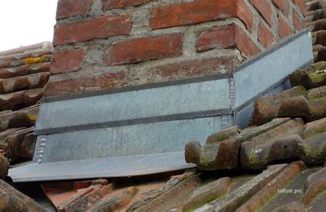 abergement de cheminee etancheite cheminee toiture zinc isolation toiture