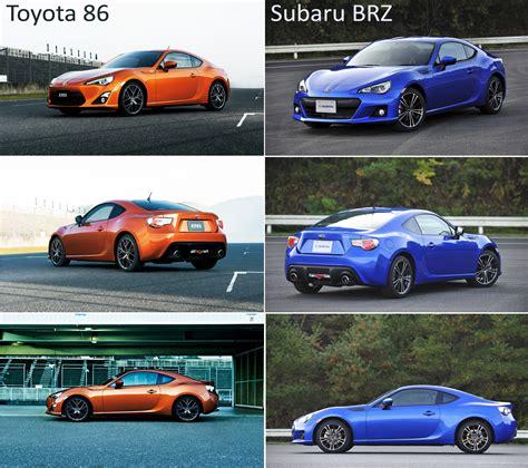 toyota subaru brz subaru brz vs toyota 86 html autos weblog