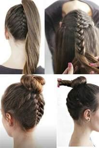 tuto coupe de cheveux une coiffure simple et rapide 56 variantes en photos et vidéos