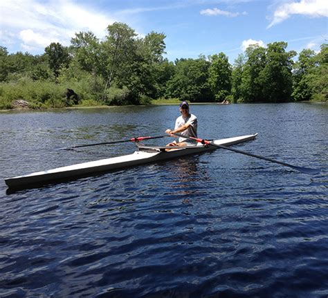 Sculling Boat by Sculling School Lessons Durham Boat Company