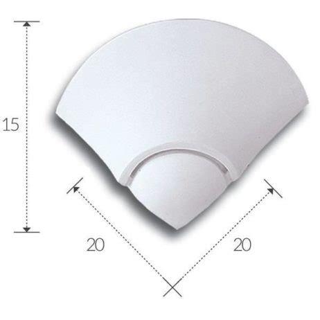 applique ad angolo applique in gesso verniciabile lada da parete ad angolo