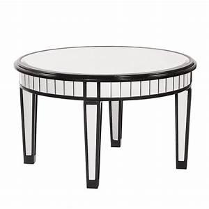 coffee table elegant mirrored coffee table round mirror With mirrored circle coffee table