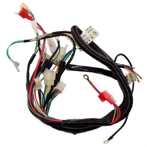 Kart Atv Quad Bike Wiring Cdi Coil Lead Cluster Key