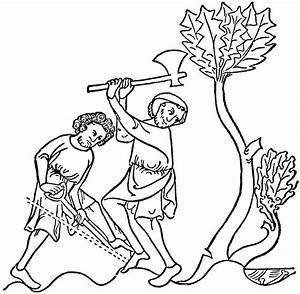 Man Cutting Tree Clip Art – Cliparts