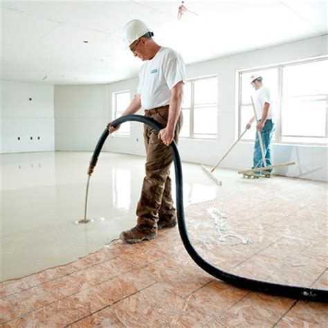 Gypcrete Light Weight Concrete   The Floor Company