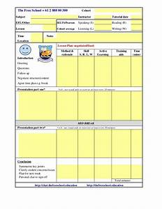 tesol esl lesson plan template With esol lesson plan template