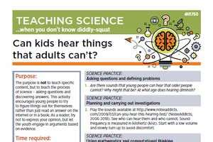 teaching science   dont  diddly squat