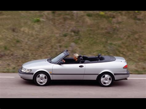 1994-1998 Saab 900 Convertible New Generation - 1997 Grey ...