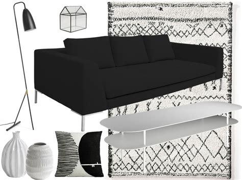 deco canape noir idee deco salon canape noir maison design bahbe com