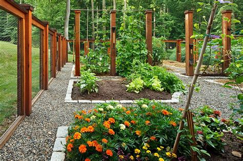 a vegetable and flower garden idea for the summer decoist