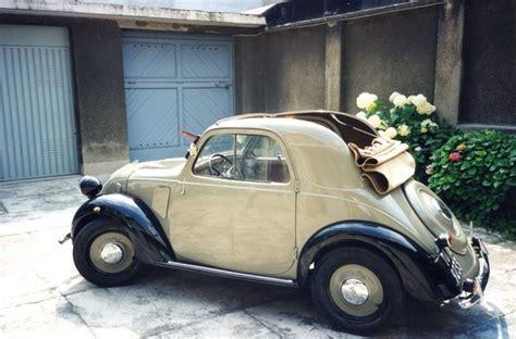 fiat topolino  classic italian cars  sale