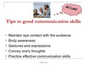 What Are Communication Skills To Put On A Resume by Communication Skills Ppt