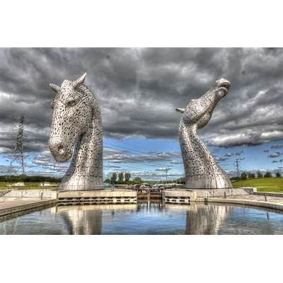 the Kelpies - Castle Pictures  Photography and Videos
