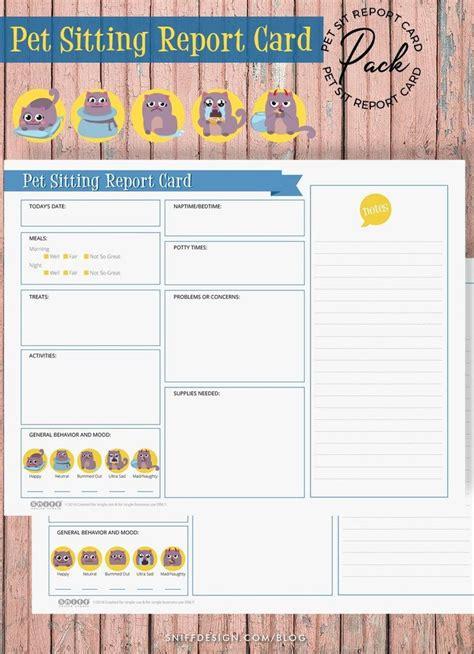 dog boarding report card template fresh pet sitting report