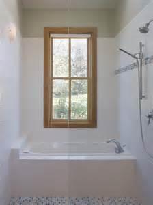 Small Bathroom Ideas Walk-In Shower with Window