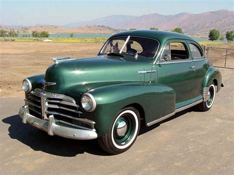 1948 Fleetmaster Sport Coupe #chevy #classiccars