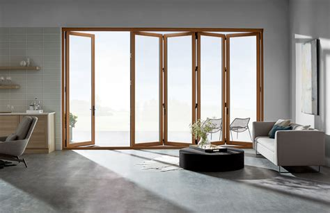 bifold patio doors seamlessly connect indoors  outdoors pella