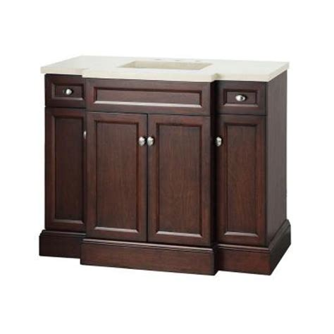 foremost teagen 42 in vanity in espresso with