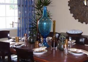 beautiful arrangement centerpiece dining room table home