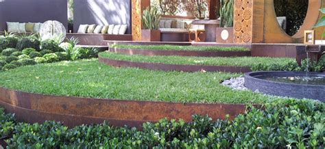 metal garden edging various steel finishes available formboss