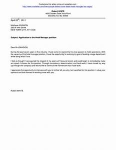 cover letter samples for hotel job copy cover letter With copies of cover letters for employment