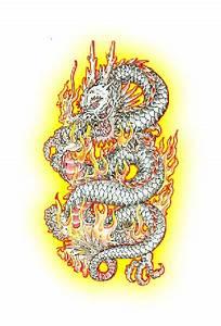 Baby Lion Designs Grey Ink Chinese Dragon Design