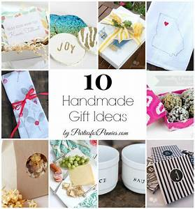 10 Handmade Gift Ideas - Parties for Pennies