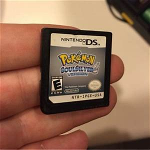 Free: POKEMON Soul Silver Nintendo DS game cartridge ...