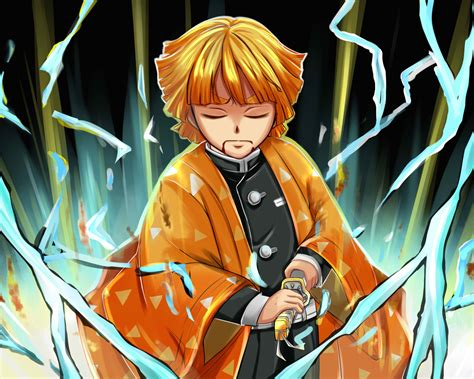zenitsu agatsuma anime  resolution