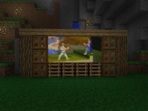 minecraft tv paintings