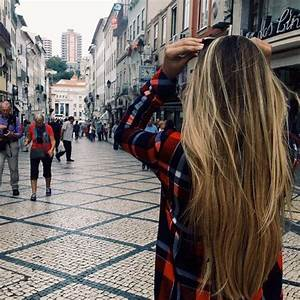blonde hair, boho, brown hair, city, cool, girl, grunge ...