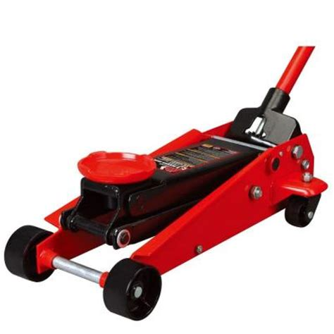 home depot house floor jacks big red 3 ton steel floor jack t83002 the home depot