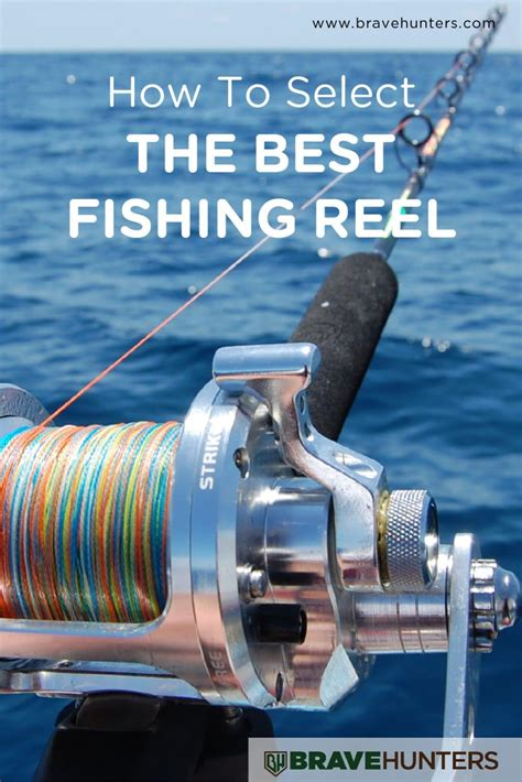 select   fishing reel brave hunters