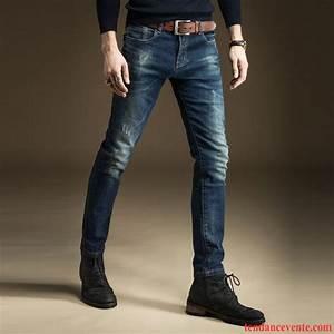 Jean Slim Noir Homme : jean coupe skinny homme slim jambe droite noir pantalon l ~ Voncanada.com Idées de Décoration