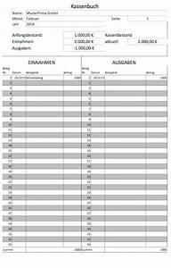 Ordnungsgemäße Rechnung Muster : kassenbuch vorlagen gratis f r microsoft excel und als pdf lexoffice ~ Themetempest.com Abrechnung