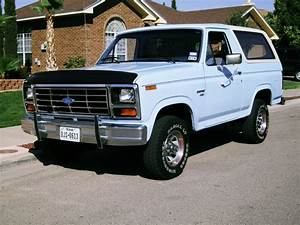 1986 Ford Bronco Xl For Sale