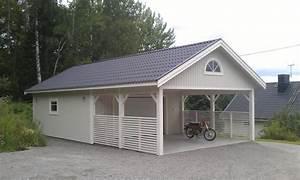 Carport Vor Garage : carport carport garage ~ Lizthompson.info Haus und Dekorationen