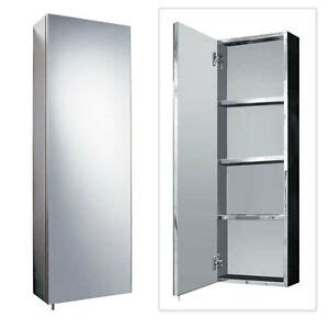 Bathroom Mirror Cabinets Uk by Stainless Steel 900mm X 300mm Wall Mounted Bathroom