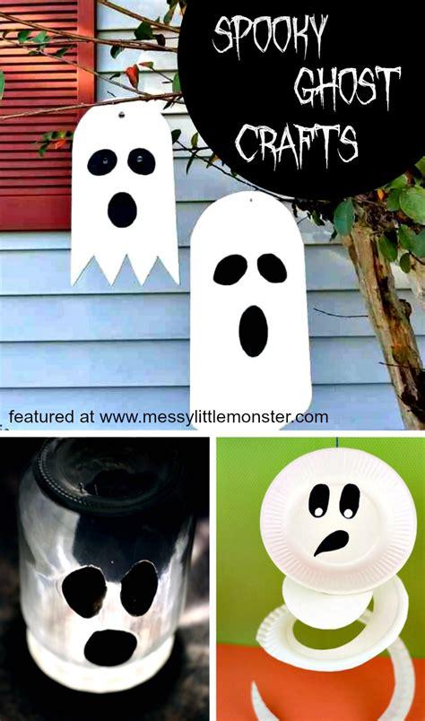 halloween ghost crafts  kids  spooky ghost craft